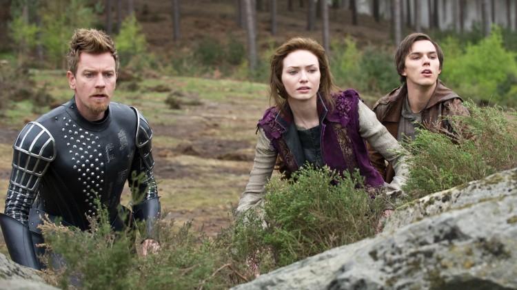 Ewan McGregor, Eleanor Tomlinson og Nicholas Hoult i Jack the Giant Slayer (Foto: Warner Bros. Pictures/ SF Norge AS).