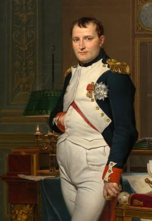 The Emperor Napoleon. (Bilete: Jacques-Louis David, i public domain)