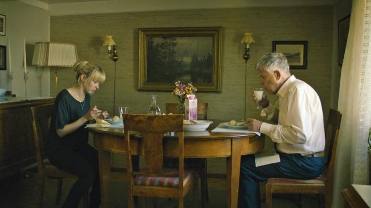 Marie Blokhus og Sven-Bertil Taube i Jag etter vind (Foto: Motlys / Norsk Filmdistribusjon).