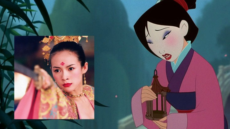 Zhang Ziyi bør spille Mulan! (Foto: Disney, Sony Pictures Classics).