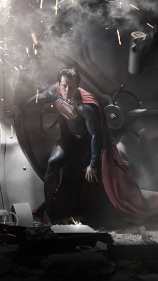 Henry Cavill er «Man of Steel». (Foto: Warner Bros.)