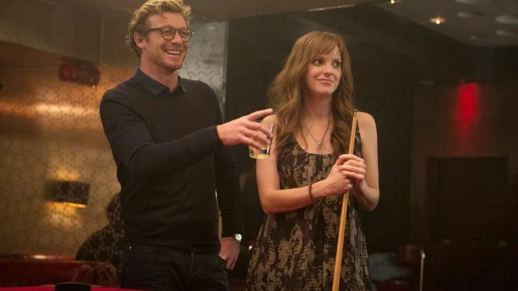 Simon Baker og Anna Farris er sjarmerende som drømmepartnerne til Nat og Josh i I Give It a Year. (Foto: SF Norge).