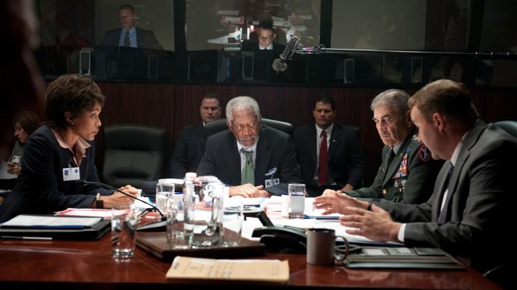 Morgan Freeman blir utøvende president i Olympus Has Fallen (Foto: Nordisk Film Distribusjon AS).