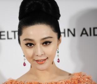 Den kinesiske stjerneskodespelerinna Fan Bingbing. (Foto: REUTERS/Gus Ruelas)