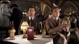 Tobey Maguire og Leonardo DiCaprio i Carey Mulligan og Leonardo DiCaprio i Den store Gatsby (Foto: SF Norge AS).