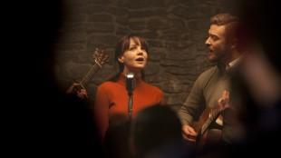 Carey Mulligan og Justin Timberlake i Inside Llewyn Davis (Foto: Norsk Filmdistribusjon).