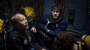 Aksel Hennie og Wes Bentley i Pionér (Foto: Erik Aavatsmark / Friland Produksjon AS).