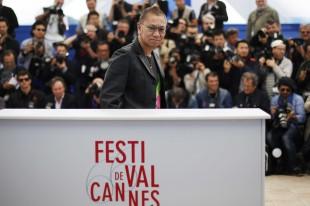 Regissør Takashi Miike i Cannes (Foto: AFP PHOTO / LOIC VENANCE).