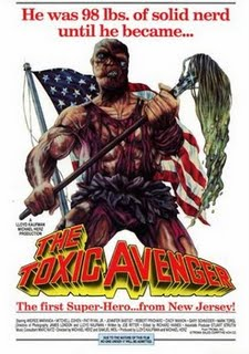 The Toxic Avenger-poster. (Foto: Troma Productions)