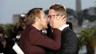 Godt forhold mellom Ryan Gosling og NIcolas Winding Refn. Her fra Cannes i 2011 (Foto: AFP PHOTO / ANNE-CHRISTINE.POUJOULAT).