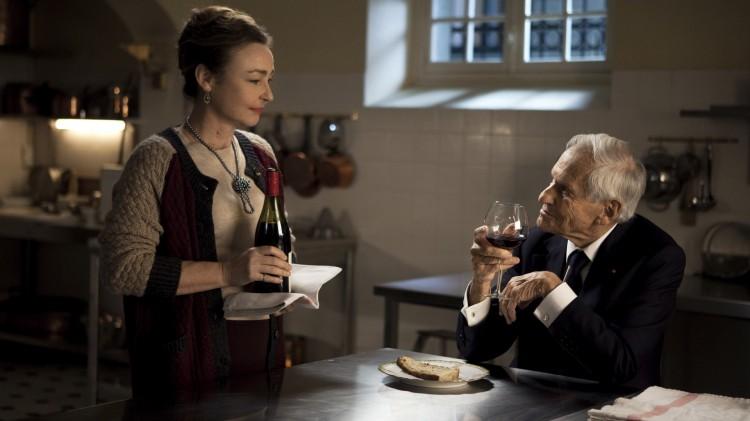 Catherine Frot og Jean d'Ormesson i Bon Appetit, Hr. President (Foto: Scanbox).