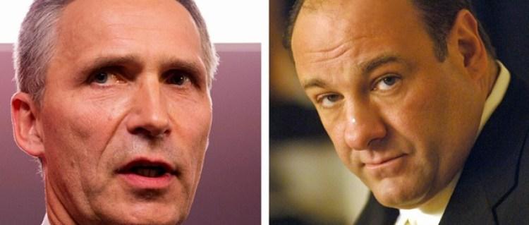 Stoltenberg hyller Tony Soprano