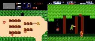 Stor skilnad mellom «The Legend of Zelda» og «Zelda II: The Adventure of Link». (Foto: Nintendo)