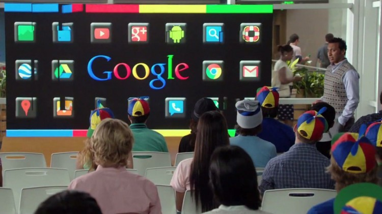 The Internship er som en eneste stor reklameplakat for Google. (Foto: Twentieth Century Fox Norway).