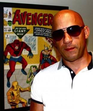 10. juli la Vin Diesel ut dette bildet på sin egen Facebook-gruppe: «Marvel meeting today… Only the people in the room can tell you what was discussed…». (Foto: Facebook.com)
