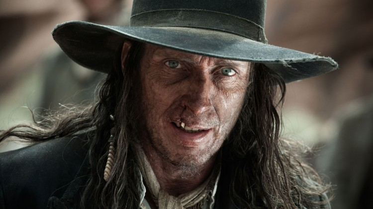 William Fichtner som blodtørstig banditt i The Lone Ranger. (Foto: The Walt Disney Company Nordic).