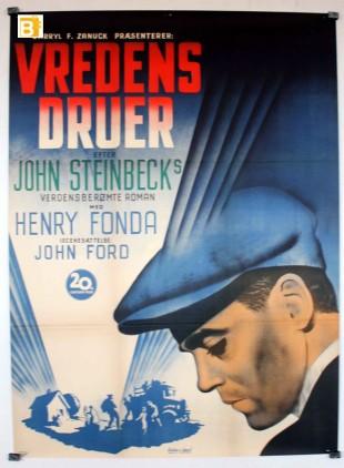 Plakaten for Vredens Druer.