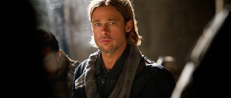 Brad Pitts «World War Z» topper kinohelga internasjonalt