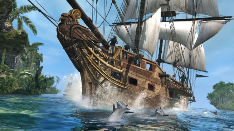 Du er piratkaptein ombord på Jackdaw i Assassin's Creed IV: Black Flag. (Foto: Ubisoft).