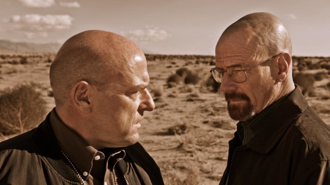 Dean Norris og Bryan Cranston i Breaking Bad (Foto: Sony Pictures Television).
