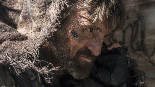 Sharlto Copley gjør herlig skurkerolle i Elysium (Foto: United International Pictures).