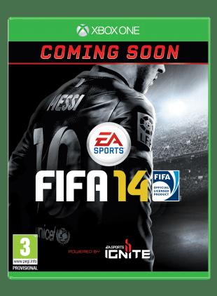 Alle som forhåndsbestiller Xbox One vil få med FIFA 14, «så langt lageret rekker». (Foto: EA)