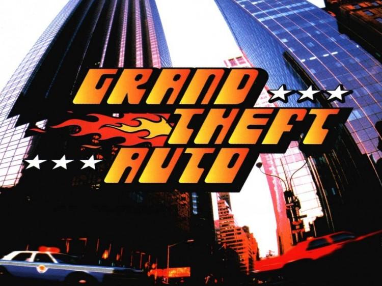 Slik så spillcoveret og plakatene ut da det første «GTA»-spillet kom ut i 1997. (Foto: DMA Design / BMG Interactive / Rockstar)