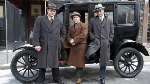 Al Capone (Stephen Graham) og kompanjonger i et promobilde for «Boardwalk Empire». (Foto: HBO)
