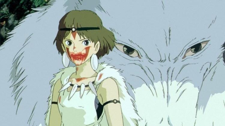 Prinsesse Mononoke (1997). (Foto: Studio Ghibli)