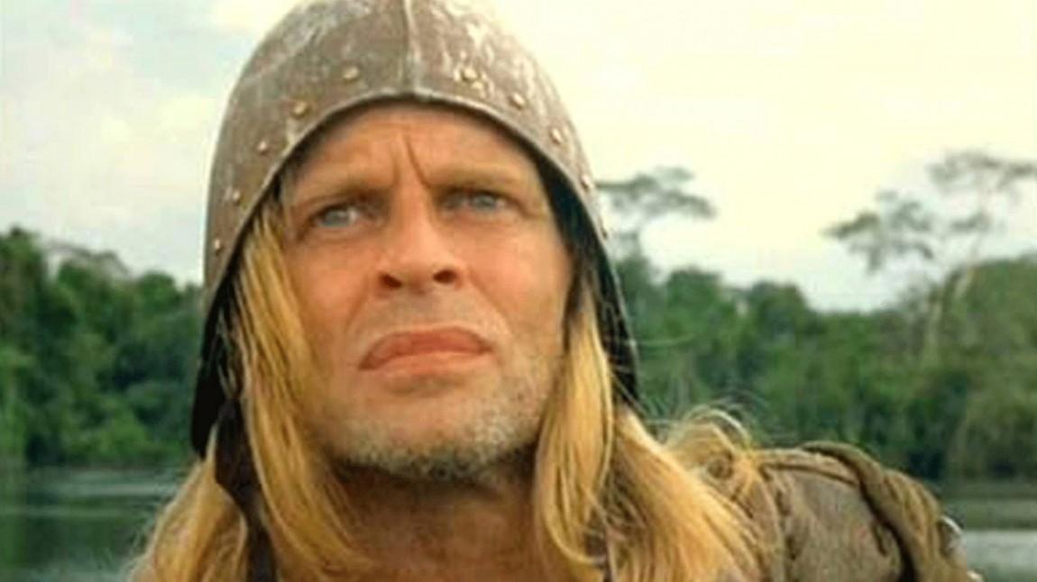 Klaus Kinski som Don Lope de Aguirre i Aguirre, Wrath of God. (Foto: StudioCanal).