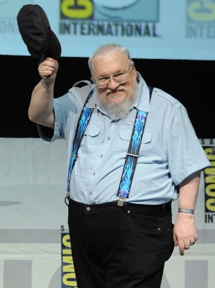 George R. R. Martin på Comic-Con-messa i San Diego. (Foto: Kevin Winter/Getty Images/AFP, NTB Scanpix).
