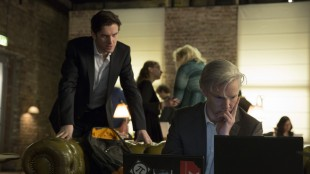 Dan Stevens og Benedict Cumberbatch i Den femte statsmakt (Foto: DreamWorks Distribution Co/Nordisk Film Distribusjon AS).