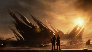 Flott sci-fi-panorama i Ender's Game (Foto: The Walt Disney Company Nordic).