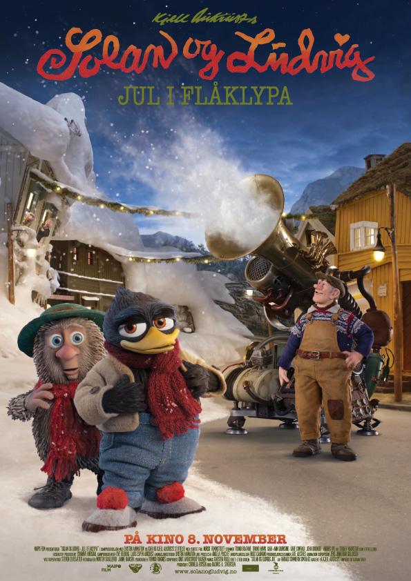 Solan og Ludvig – Jul i Flåklypa