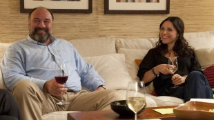 James Gandolfini og Julia Louis-Dreyfus i Enough Said (Foto: 20th Century Fox).