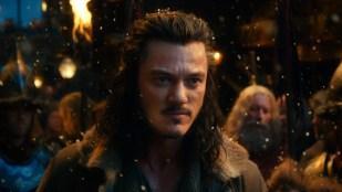 Den tøffe smugleren Bard (Luke Evans) blir en viktig figur i Hobbiten: Smaugs ødemark (Foto: SF Norge).