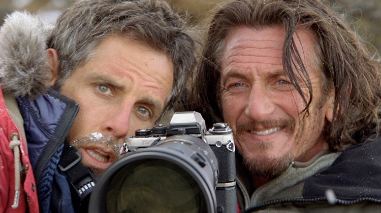 Ben Stiller og Sean Penn i The Secret Life of Walter Mitty (Foto: Fox Film).