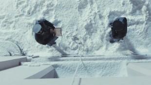 Snøen i denne «Max Manus»-scenen er cellulosemateriale. (Foto: Nordisk Film Distribusjon)
