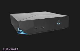 Steam-konsoll fra produsenten Alienware. (Foto: Valve)