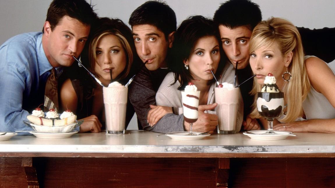 Hele gjengen fra «Friends». (Foto: NBC)