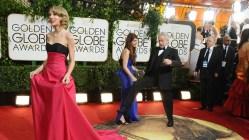 Stjernene glitret på den 71. Golden Globe-utdelingen