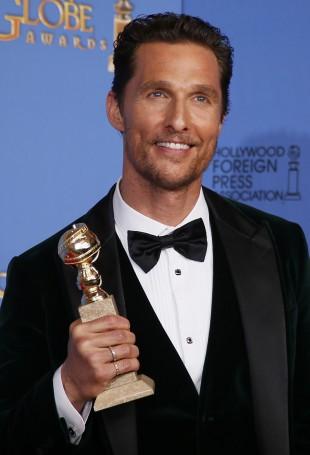 Matthew McConaughey vant pris for beste mannlige hovedrolle i en dramafilm.