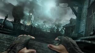 Atmosfæren i «The City» er mørk og god. Men «Thief» ikke lar spilleren utforske og omgi seg byen. (Foto: Eidos / Sqaure Enix)