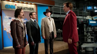 Paul Rudd, Steve Carell, David Koechner og Will Ferrell i Anchorman: The Legend Continues (Foto: UIP).