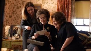 Julianne Nicholson, Meryl Streep og Margo Martindale i Familien, August: Osage County (Foto: Scanbox).