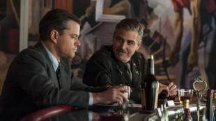 Matt Damon og George Clooney i «The Monuments Men». (Foto. Twentieth Century Fox)
