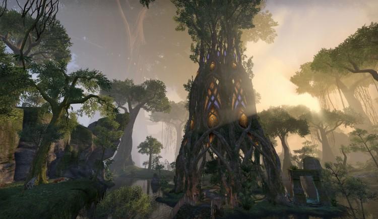 Vakre omgivelser i The Elder Scrolls Online. (Foto: Bethesda).