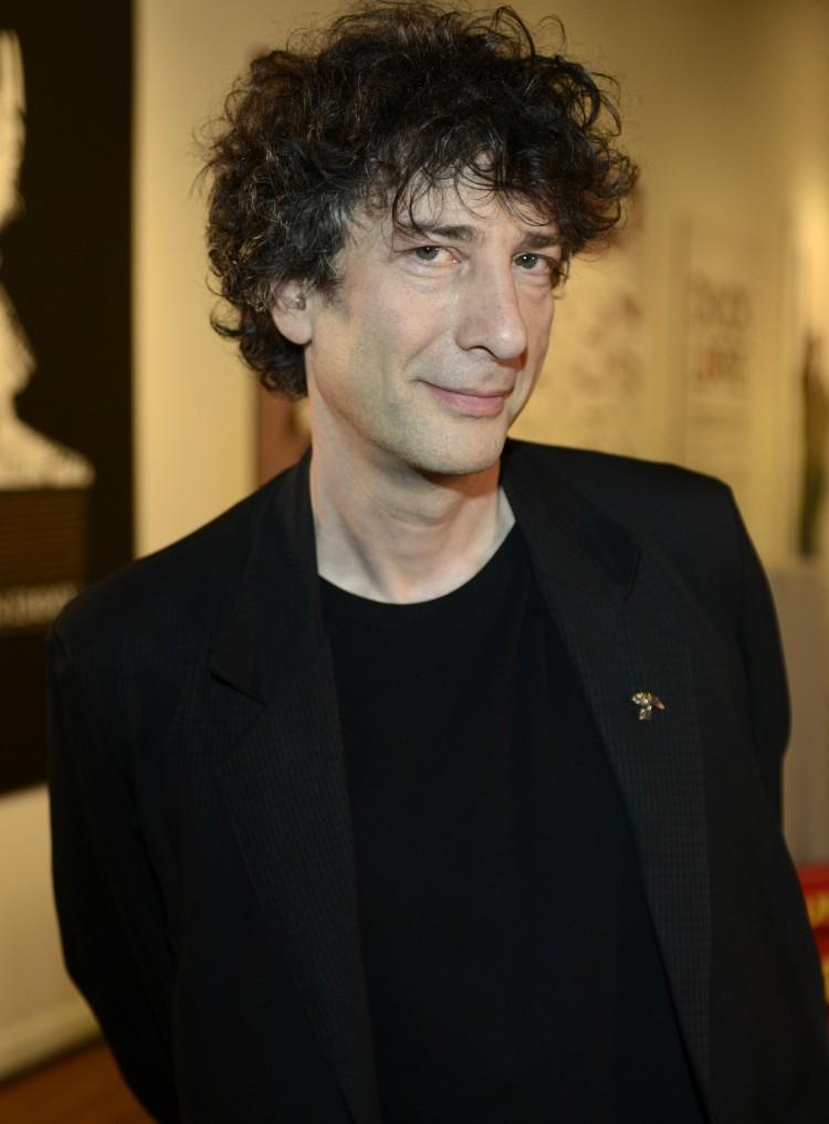 Forfattar og manusskribent Neil Gaiman. (Foto: Tim Mosenfelder/Getty Images/AFP)