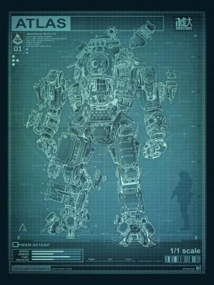 Atlas er en av tre tilgjengelige gigantroboter i «Titanfall». (Foto: Respawn Entertainment)