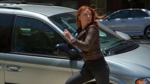 "Scarlett Johansson spiller Natasha ""Black Widow"" Romanoff i Captain America: The Winter Soldier (Foto: Twentieth Century Fox Norway)."